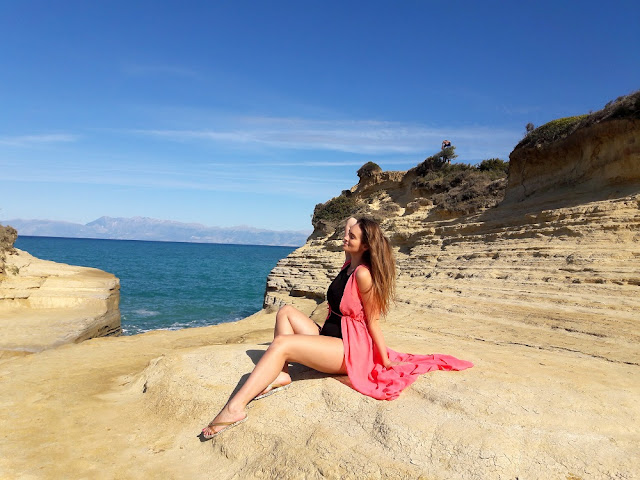 Sidari, Beach, Canal d'Amour, Corfu