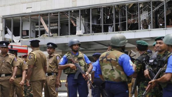 Detienen a ocho personas tras cadena de atentados terroristas en Sri Lanka