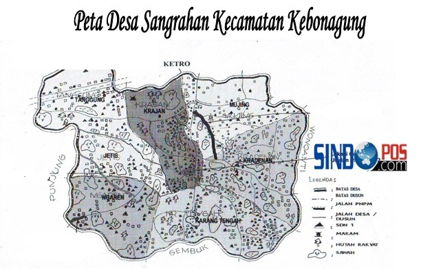 Profil Desa & Kelurahan, Desa Sanggrahan Kecamatan Kebonagung Kabupaten Pacitan