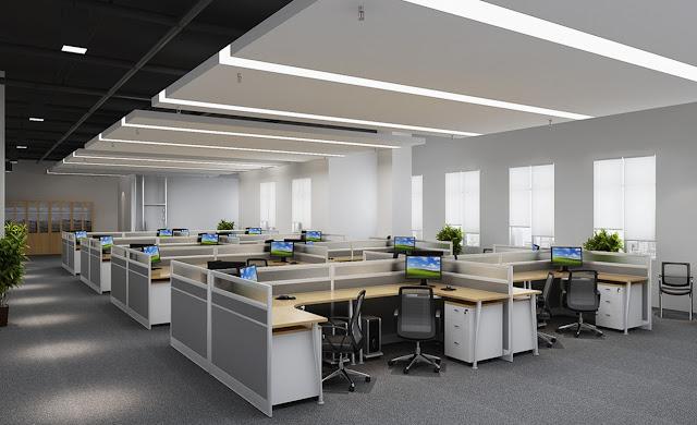 desain ruangan kantor terbaru