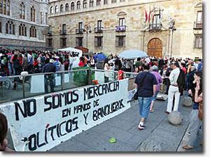 emputados 15-M indignados españa bogota blog popular
