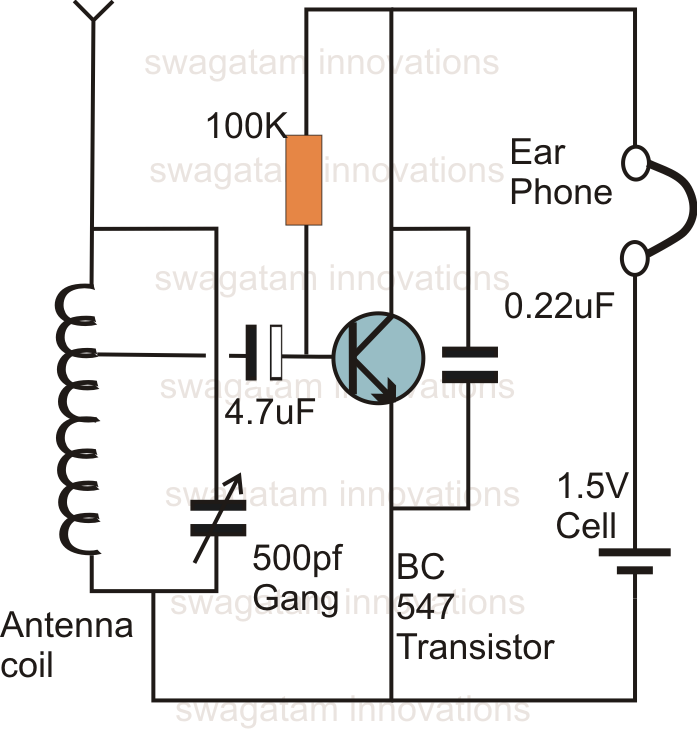 alternating on off switch electronic project circuit