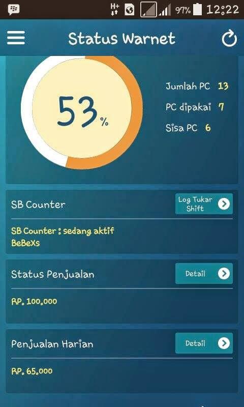 Download Aplikasi APK Smart Billing Mobile GWarnet Terbaru