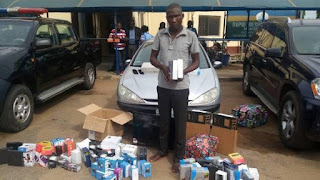 Wow!! Slot driver Makes Away With Goods Worth Of N4,654,224