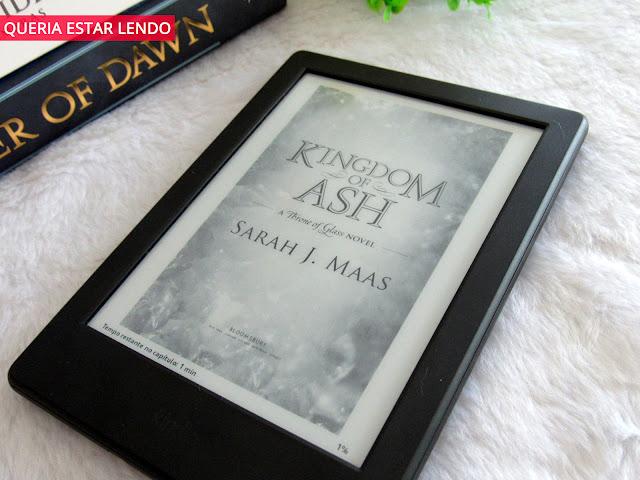 Resenha: Kingdom of Ash (Reino de Cinzas)