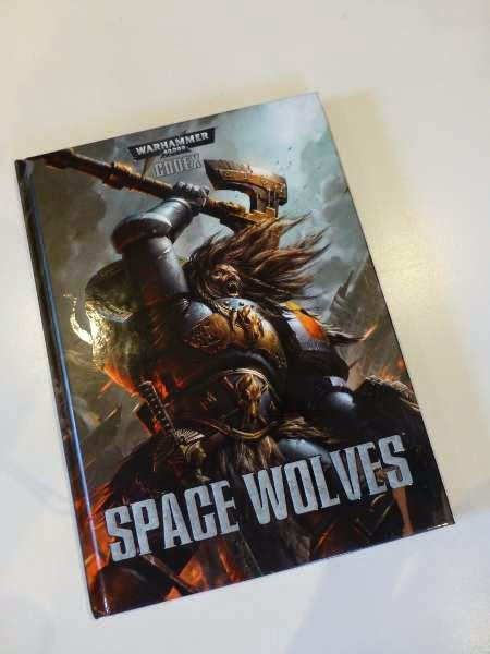 new space wolf codex is mine