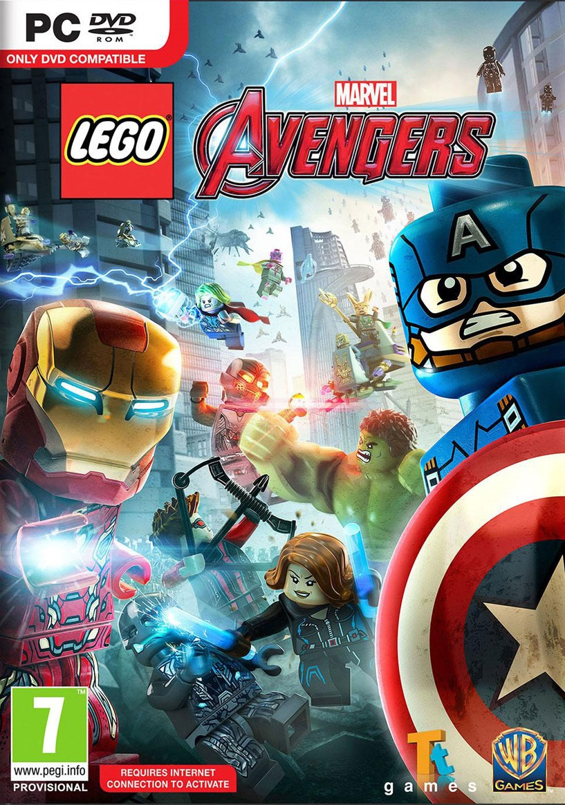 LEGO Marvel Avengers ESPAÑOL PC Full