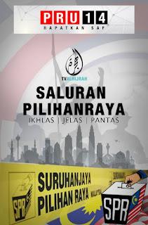 TV ALHIJRAH SALURAN PILIHANRAYA