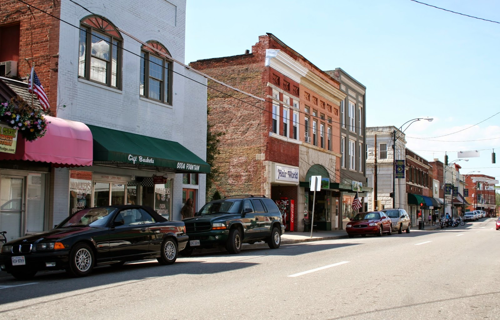 Downtown Mt Airy Nc Map