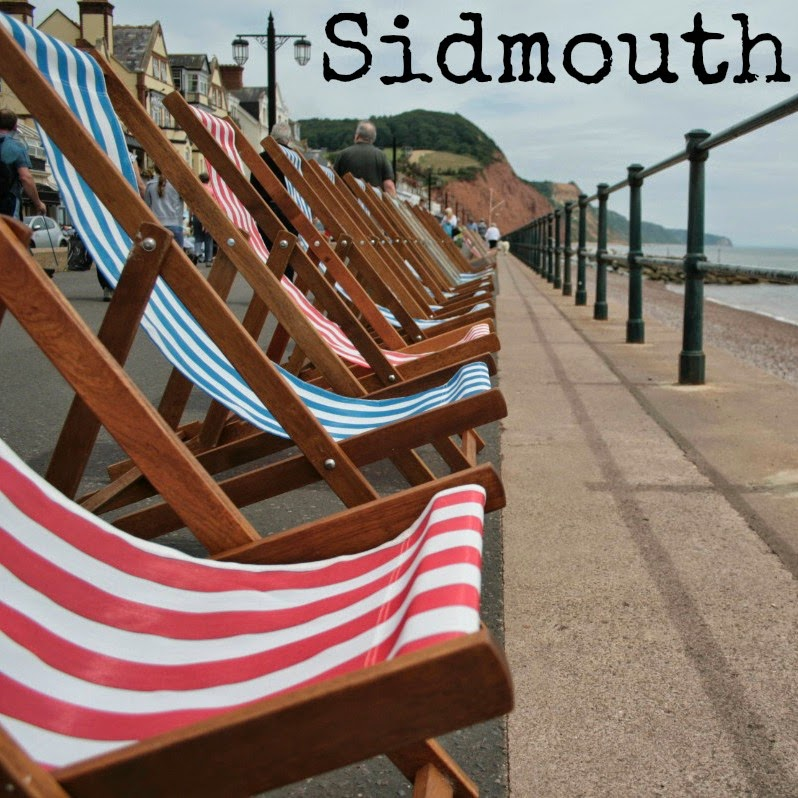 Sidmouth - a real gem on the south coast of Devon!  With gorgeous pebble and sandy beaches, fish and chips to die for, mighty red cliffs and naughty seagulls, make sure you visit if you're in the area!