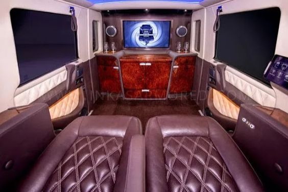 SEE Latest Luxury G-Wagon With Inside Like A Private Jet