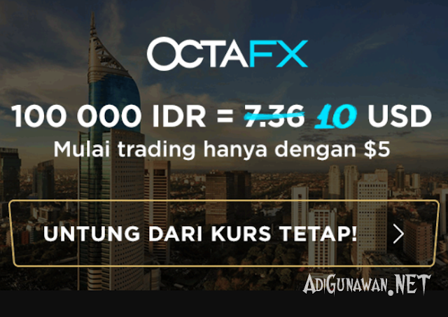 Review Broker OctaFX Indonesia Terbaru