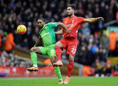 Defoe, Emre Can, Liverpool FC, Sunderland AFC,