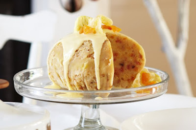 Golden boiled pudding Recipe