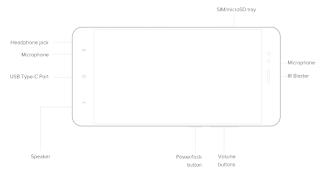 Xiaomi A1 Design Image