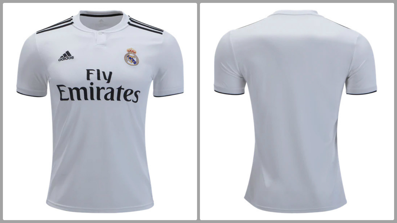 official photos 5f8f7 dbf34 Real Madrid T Shirt Buy Online