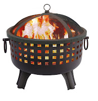 Landmann Savannah Garden Light Black Fire Pit