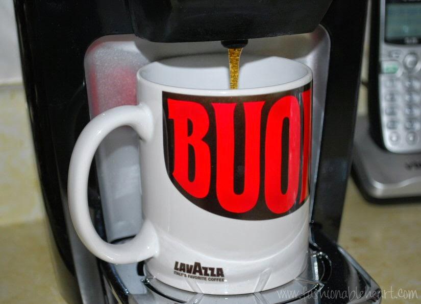 mug keurig lavazza buongiorno coffee