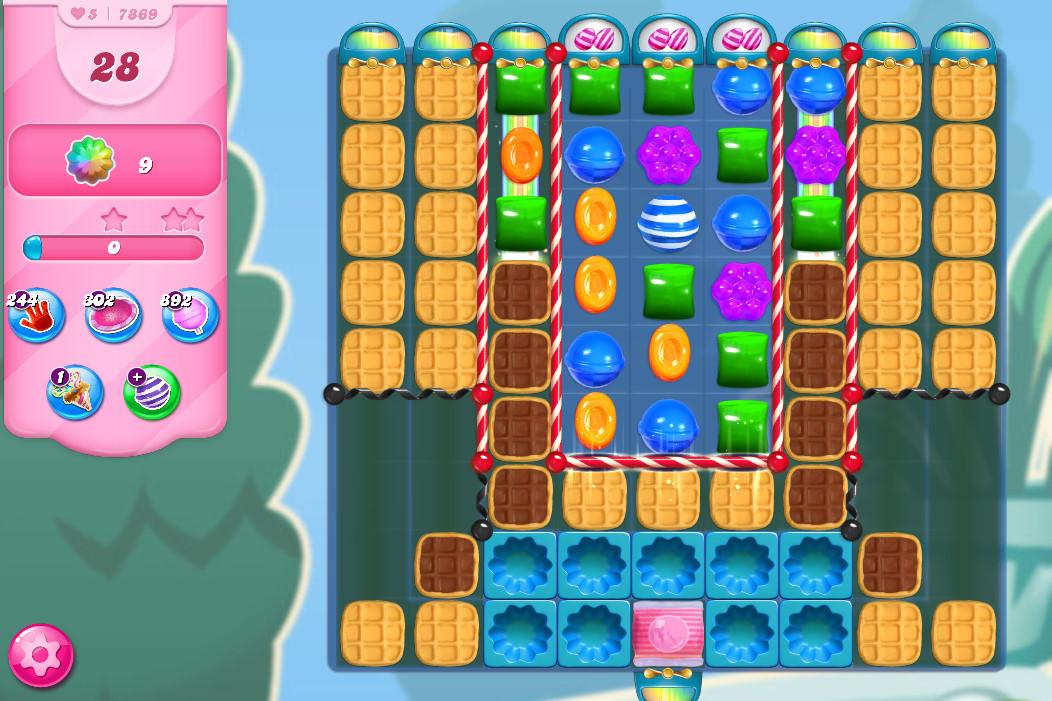 Candy Crush Saga level 7869