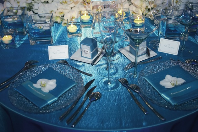 Blue Wedding Decorations: In Style Party Favors: BLUE WINTER WEDDING IDEAS