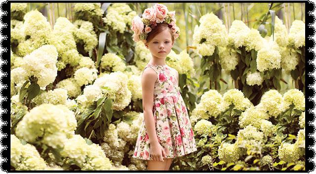MODA PRIMAVERA VERANO 2018: vestidos Little Akiabara primavera verano 2018. | Vestidos primavera verano 2018. Ropa para niños y niñas.