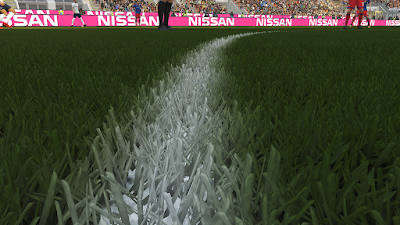 PES 2018 HD 3D Grass Mod by DrDoooMuk