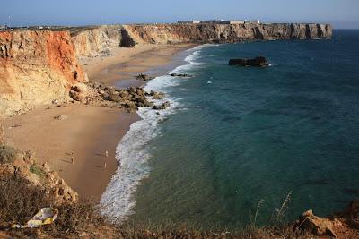 Praia do Tonel beach in Algarve