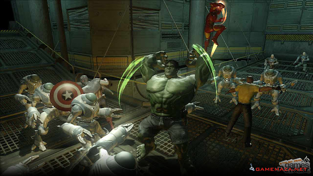 Marvel Ultimate Aliance 2 Gameplay Screenshot 2