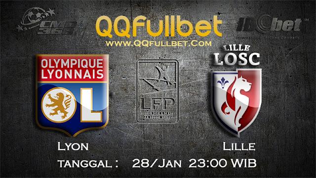 PREDIKSIBOLA - PREDIKSI TARUHAN BOLA LYON vs LILLE 28 JANUARI 2017 (FRANCE LIGUE 1)