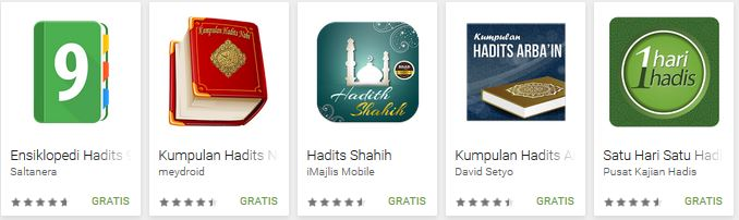 aplikasi Hadits android