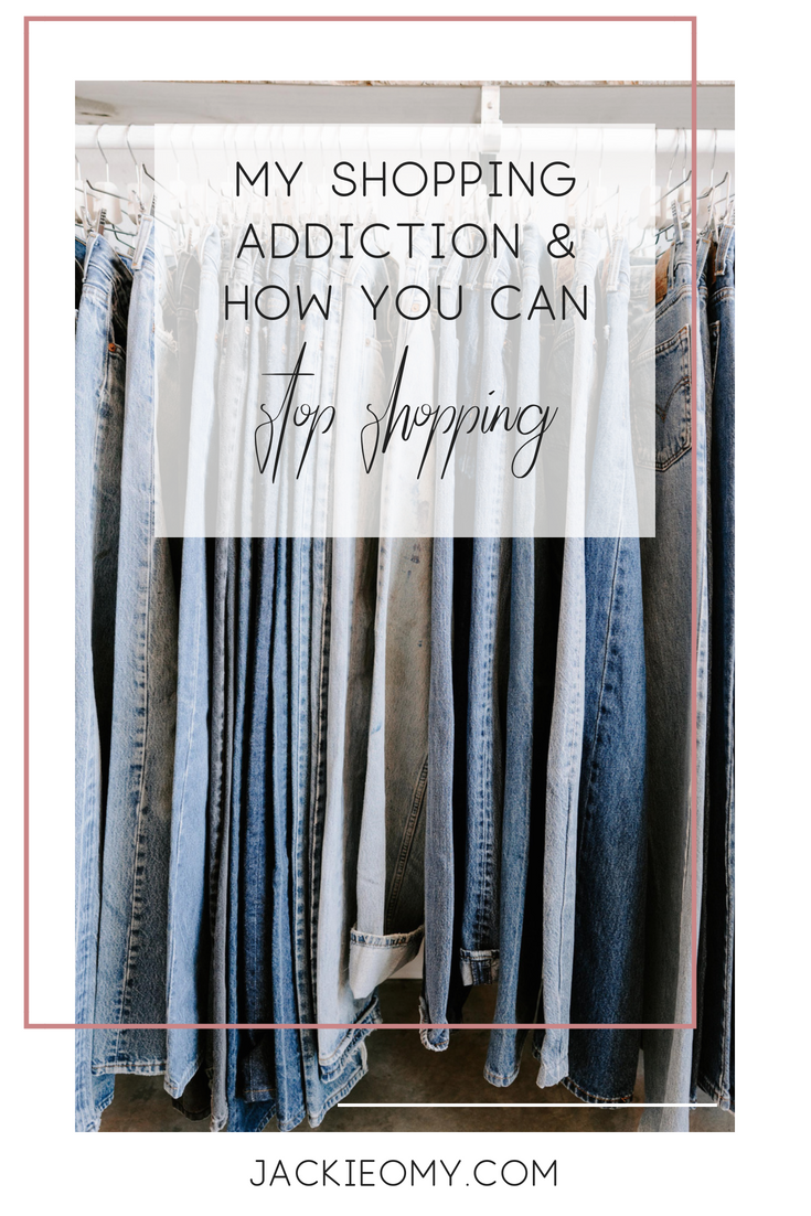 My Shopping Addiction & How You Can Join Me On A No-Shop | Jackie O My