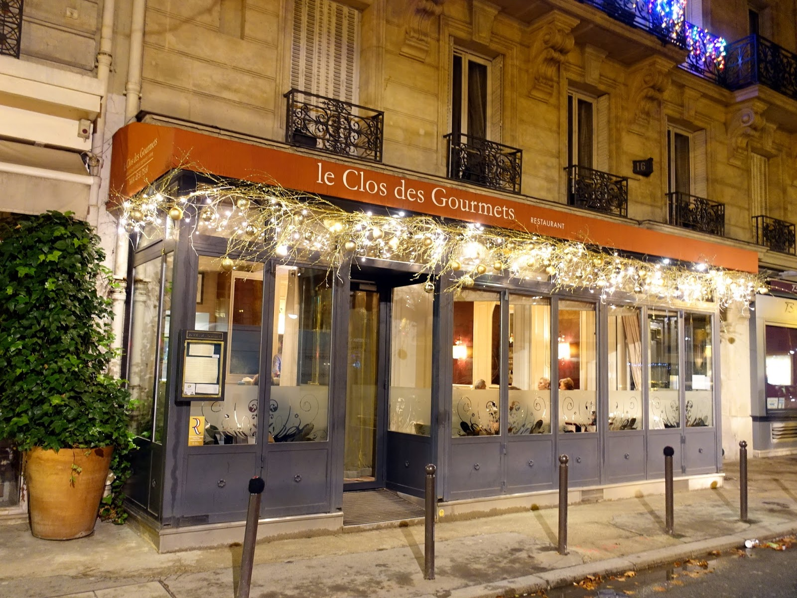 Le Clos Des Gourmets Paris France A Traveling Foodie S Gastronomic Diary From Around The World