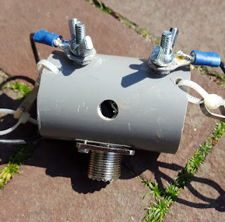 HAM-ing by PH0NO: Projects - Inverted V antennas for the low