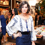 Camilla Belle rocks shorter locks at the Carolina Herrera Rodeo Boutique opening