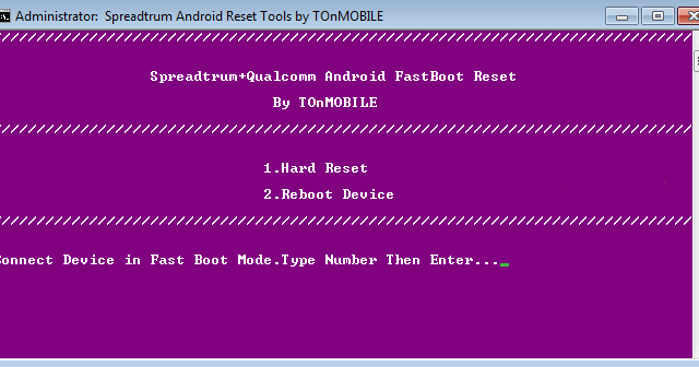 Download Android Tools: SPD Qualcomm Android Reset Tools