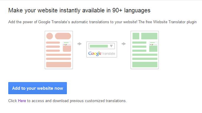 Memperluas jangkauan website dengan Translator Widget