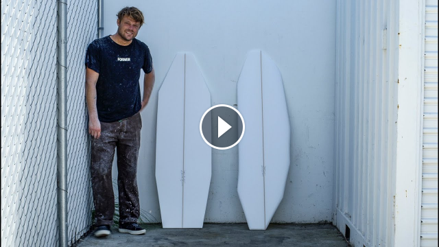 Dane Reynolds Leila Hurst and More Test Their Bizarre Duct Tape Festival Handshapes