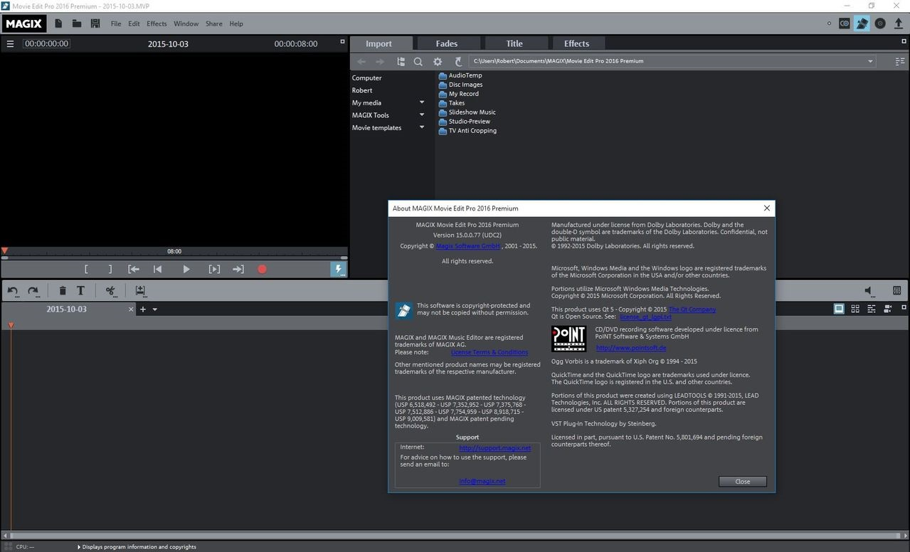 MAGIX Movie Edit Pro 2018 Premium 17.1.0.223 + Crack Keygen