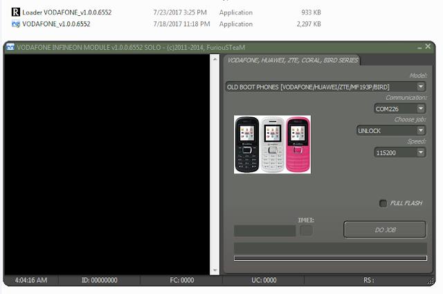 VODAFONE Unlocker Full Cracked Version Free Download