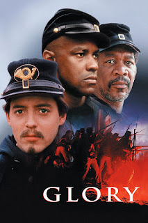 Glory (1989), directed by Edward Zwick, starring Denzel Washington