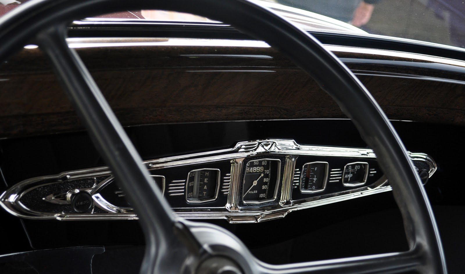 Just A Car Guy A Realy Nicely Designed Instrument Gauge