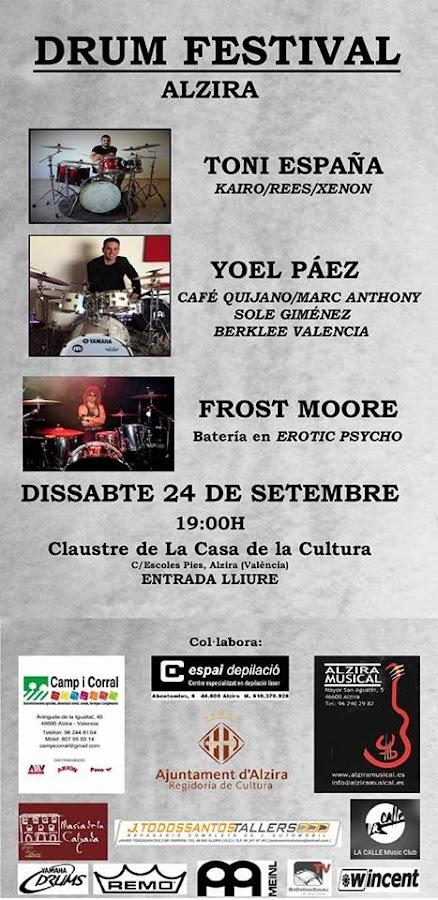 massbateria-cartel del drum festival alzira