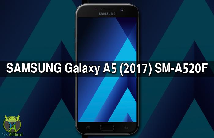 Download A520FXXU1AQAA | Galaxy A5 (2017) SM-A520F