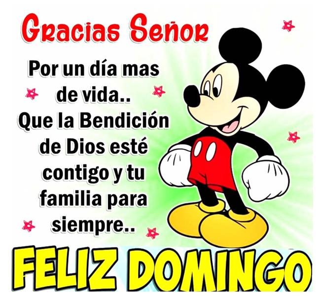 Gracias Señor Por un día mas de vida... Que la bendición de dios esté contigo y tu familia para siempre... Feliz domingo