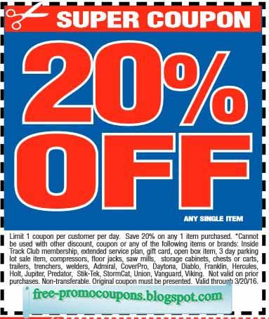 photograph about Northern Tool Coupon Printable named Coupon for northern resource - 2018 Promotions