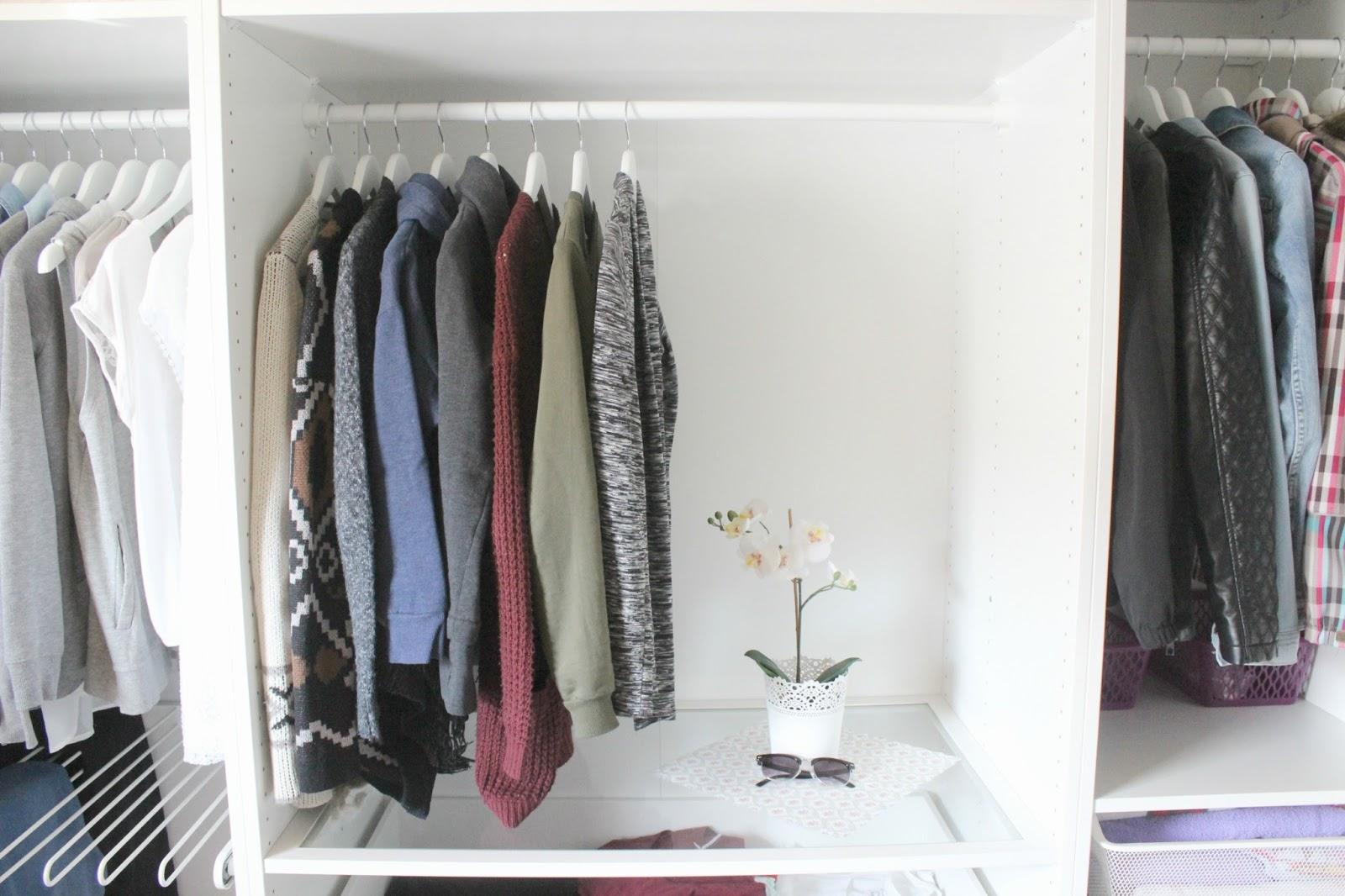 La Vie Et Moi Mein Kleiderschrank Ikea Pax System