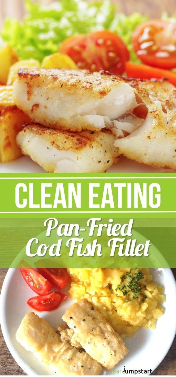 Pan Fried Cod Fish Recipe