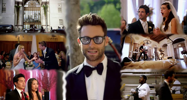 Watch Maroon 5 Crashed a Real Wedding for their new Music Video Sugar