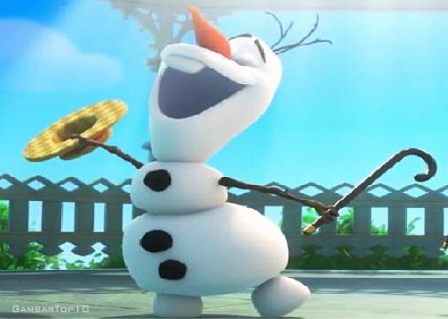 10 Gambar Olaf di Film Frozen