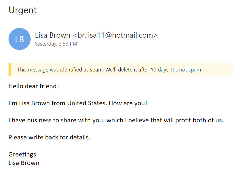 Now That Lisa Brown Has Told Me That She Is From United States (as Opposed  To, Say, The United States), And Not, For Example, From Burkina Faso, ...